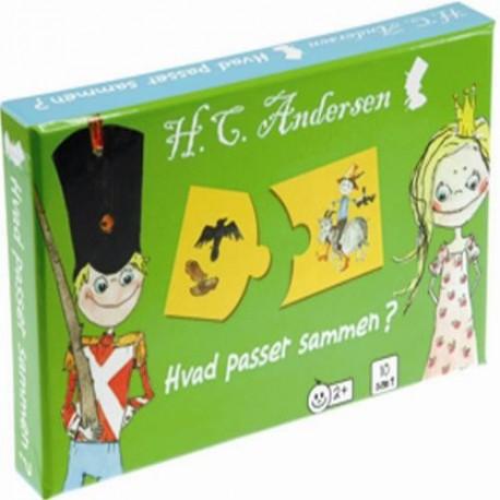 H.C. Andersen Hvad passer sammen spil
