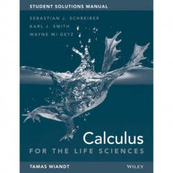 Student Solutions Manual to accompany Calculus for Life Sciences, 1e