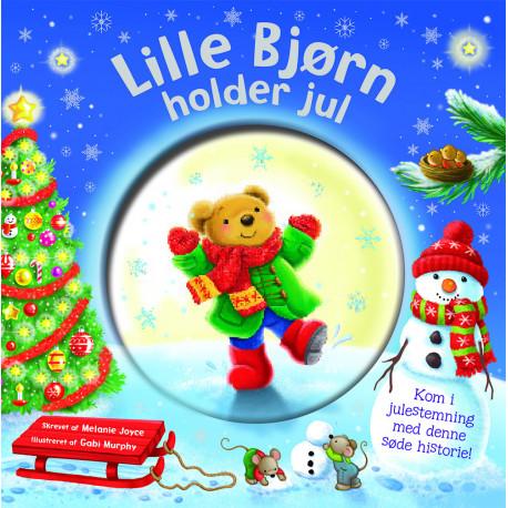 Lille bjørn holder jul: Glitter Globe