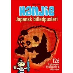 HANJIE - Japansk billedpusleri: 128 logikopgaver fra ultralette til ultrasvære
