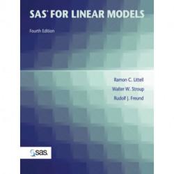 SAS for Linear Models