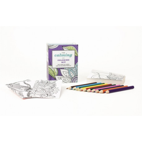 The Calming Colouring Kit (UK edition)