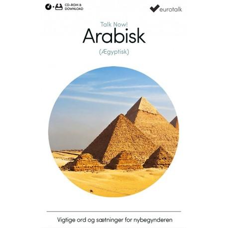 Arabisk (Ægyptisk) begynderkursus CD-ROM & download