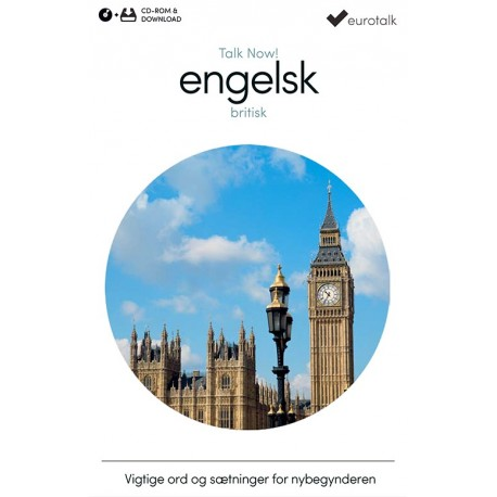 Britisk engelsk begynderkursus CD-ROM & download