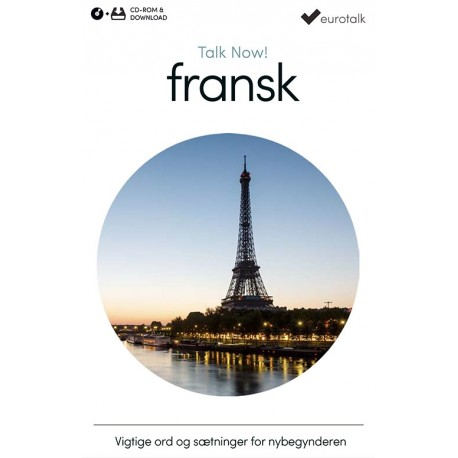 Fransk begynderkursus CD-ROM & download