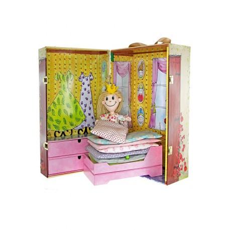 H.C. Andersen doll box - Prinsessen på ærten