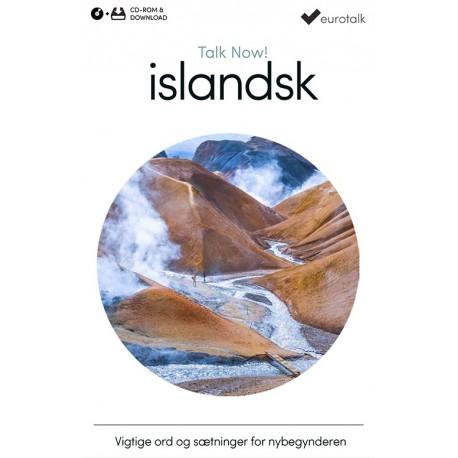 Islandsk begynderkursus CD-ROM & download