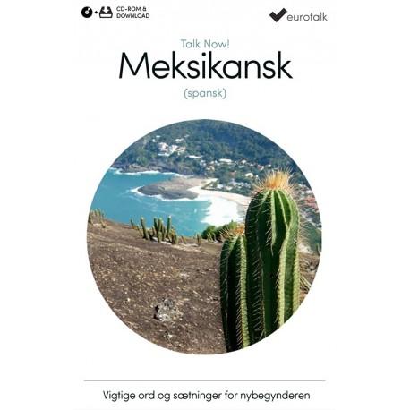 Meksikansk spansk begynderkursus CD-ROM & download