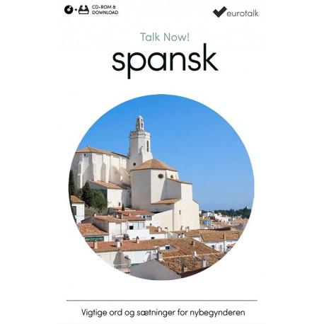 Spansk begynderkursus CD-ROM & download