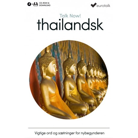 Thai begynderkursus CD-ROM & download