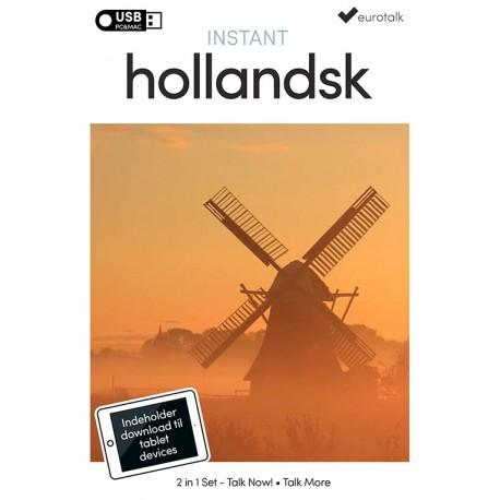 Hollandsk begynder- og parlørkursus USB & download
