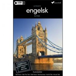 Britisk engelsk samlet kursus USB & download