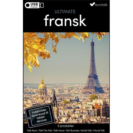 Fransk samlet kursus USB & download