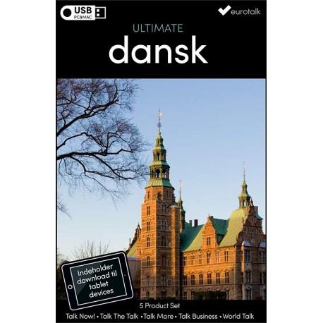 Dansk samlet kursus USB & download