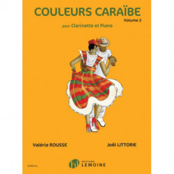COULEURS CARABE VOLUME 2 CLARINET PIANO