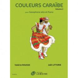 COULEURS CARABE VOLUME 2 ALTO SAXOPHONE