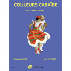 COULEURS CARABE 2 FLUTES PIANO
