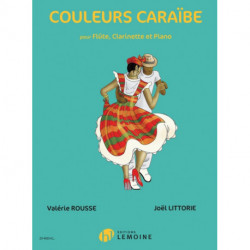 COULEURS CARABE FLUTECLARINET PIANO