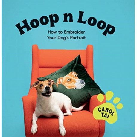 Hoop n Loop: How to Embroider Your Dog's Portrait