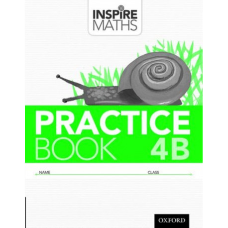Inspire Maths: Practice Book 4B (Pack of 30)