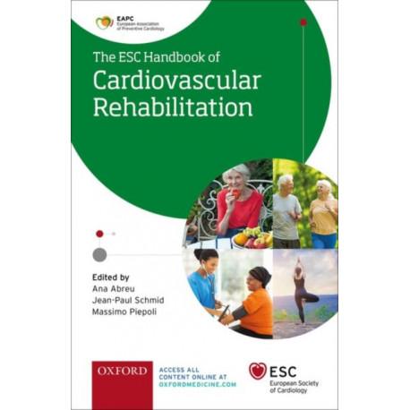 ESC Handbook of Cardiovascular Rehabilitation: A practical clinical guide