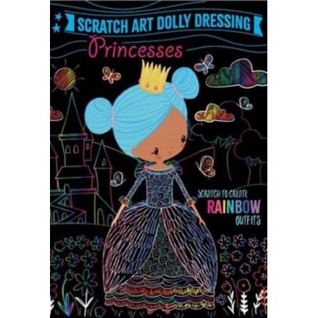 Scratch Art Dolly Dressing: Princesses