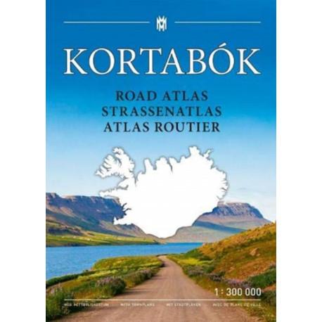 Iceland Road Atlas 2019-2020: 1:300,000