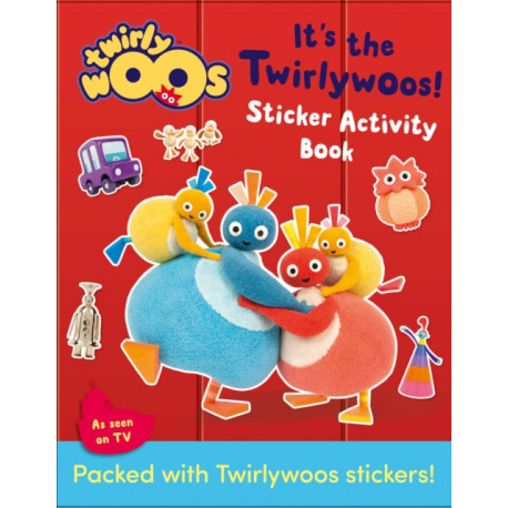 It's the Twirlywoos: Sticker Activity Book