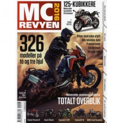 MC revyen: totalt overblik (2016 (43. årgang))