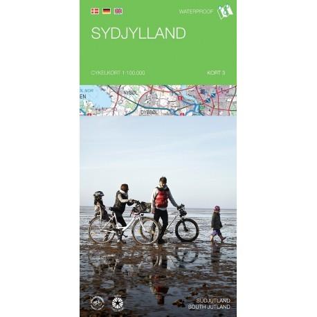 Cykelkortserie Danmark 3: Sydjylland