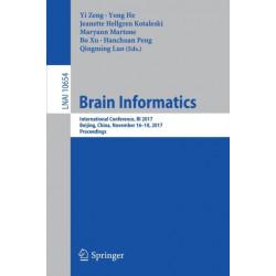 Brain Informatics: International Conference, BI 2017, Beijing, China, November 16-18, 2017, Proceedings