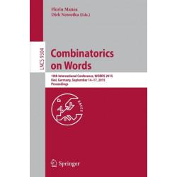 Combinatorics on Words: 10th International Conference, WORDS 2015, Kiel, Germany, September 14-17, 2015, Proceedings