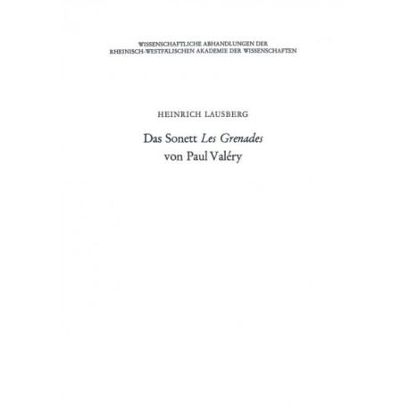 Das Sonett Les Grenades Von Paul Valery
