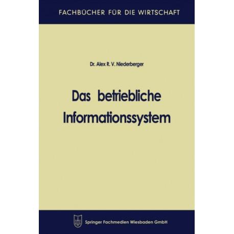 Das Betriebliche Informationssystem
