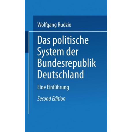 Das Politische System Der Bundesrepublik Deutschland: Eine Einfuhrung