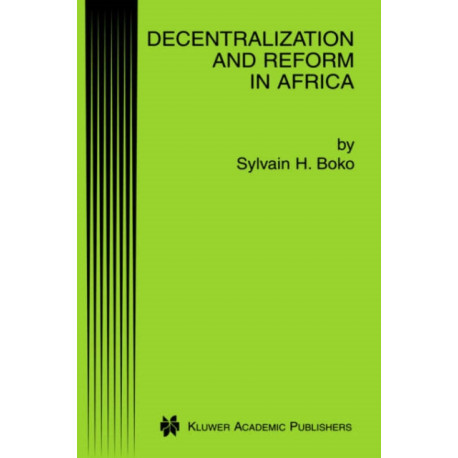 Decentralization and Reform in Africa