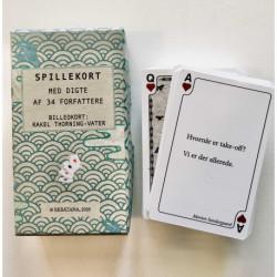 Spillekort med digte