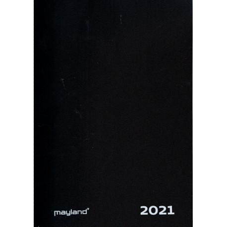 Mayland 2021 Aftalekalender A4 Sort