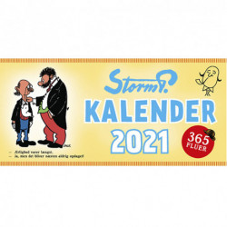 Storm P. - Kalender 2021 - 365 fluer.