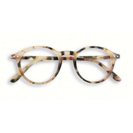 Izipizi #D læsebrille (+1, Light Tortoise)