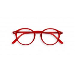 Izipizi #D læsebrille (+1, Red Crystal)