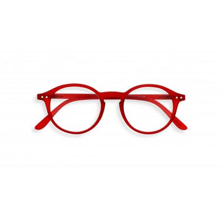 Izipizi #D læsebrille (+3, Red Crystal)