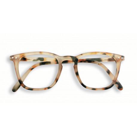 Izipizi #E læsebrille (+2, Light Tortoise)