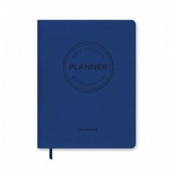MY FAVORITE PLANNER Dateret 21 / Koboltblå: Kalender Dateret / Koboltblå