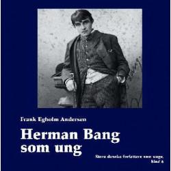 Herman Bang som ung