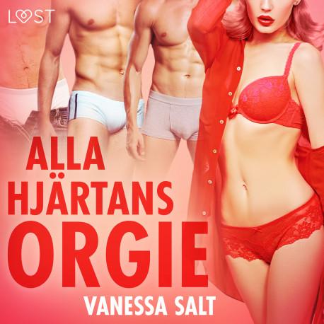 Alla hjärtans orgie - erotisk novell