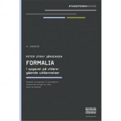 Formalia i opgaver på videregående uddannelser: Serviceafsnit, litteraturhenvisninger, layout og tupografi