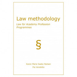 Law methodology: Law for Academy Profession Programmes
