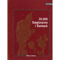 20.000 slægtsnavne i Danmark