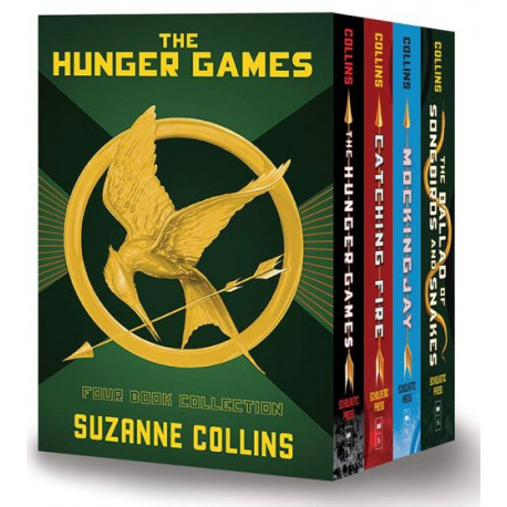 The Hunger Games: Four Book Collection - Box Set